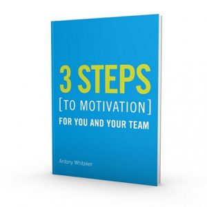 3 Steps To Motivation - FREE Guide