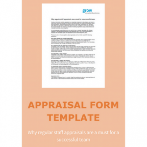 Why regular staff appraisals are a must for a successful team.